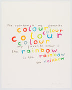 The rainbow is my favorite colour
