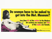 Do women have to be naked to get into the Met? Update