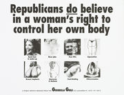 Republicans do believe in a woman's right to control her body