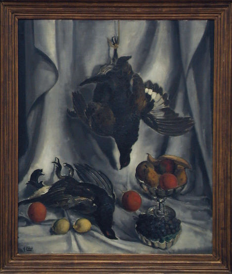 Still Life with Blackcocks