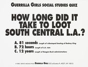 How long did it take to loot South Central L.A?
