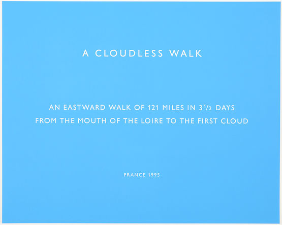 A Cloudless Walk