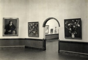 Installation view Contemporary Dutch Art 1936