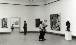 Installation view collection presentation 1957.